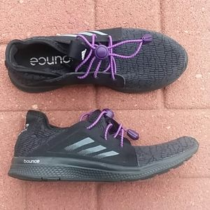 Adidas edge lux bounce athletic sneakers sz 6.5